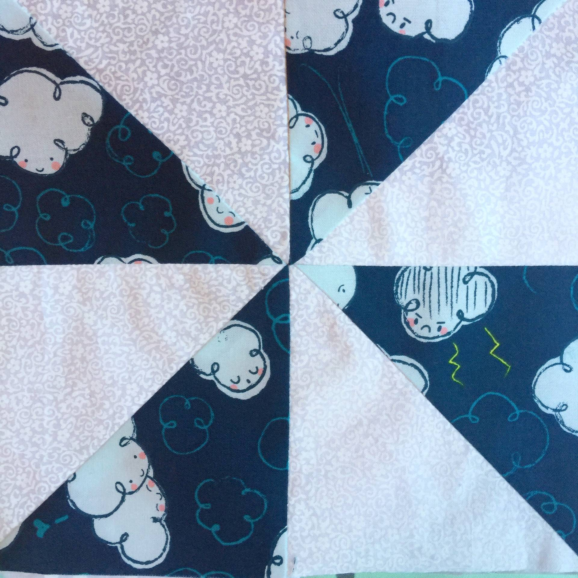 pinwheel quilt blocks || mostlysewing.com