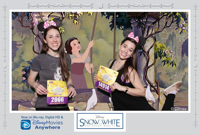 disney princess snow white photobooth