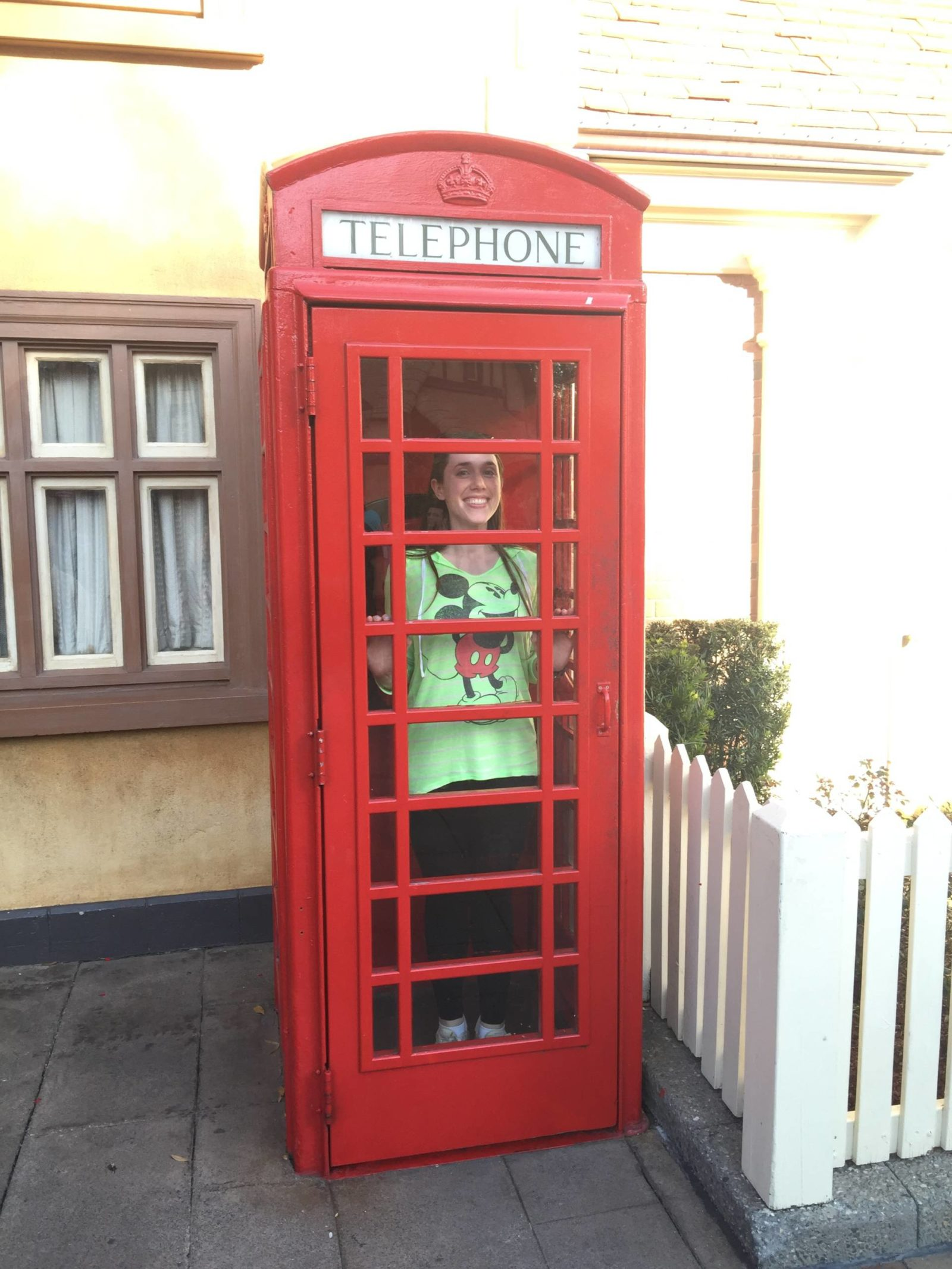 epcot world showcase phone booth