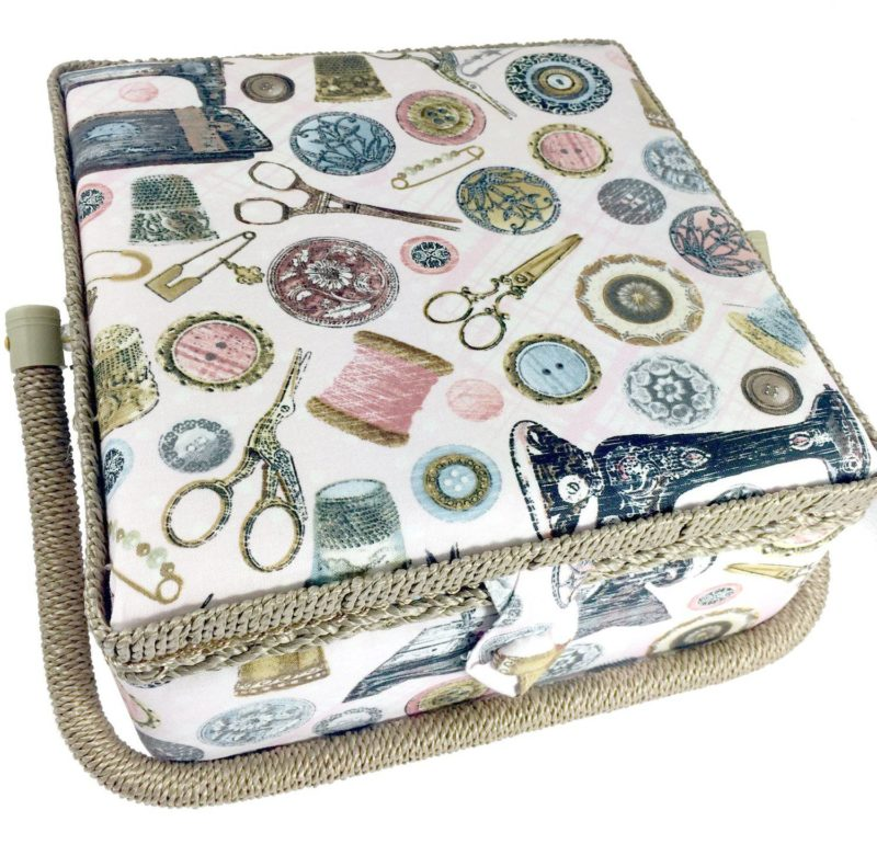 essential sewing supplies sewing basket