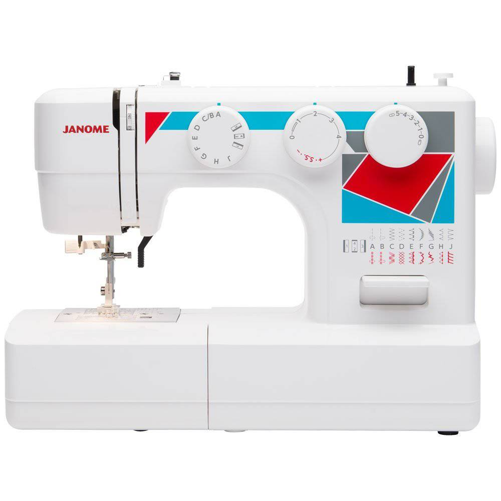 A quality sewing machine is essential for quilting. THis powerful little machine will get through all your projects