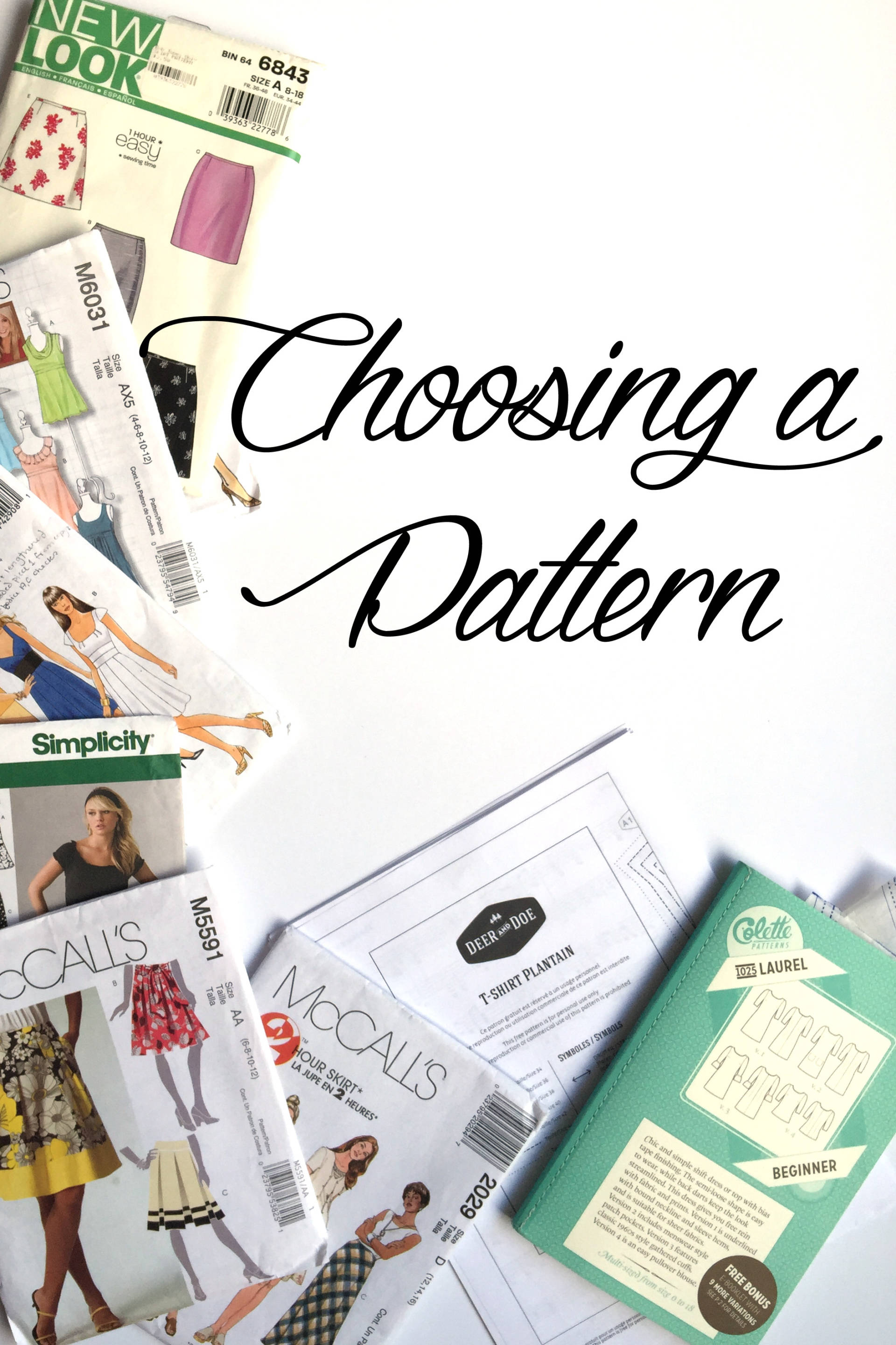 Tips for choosing a pattern