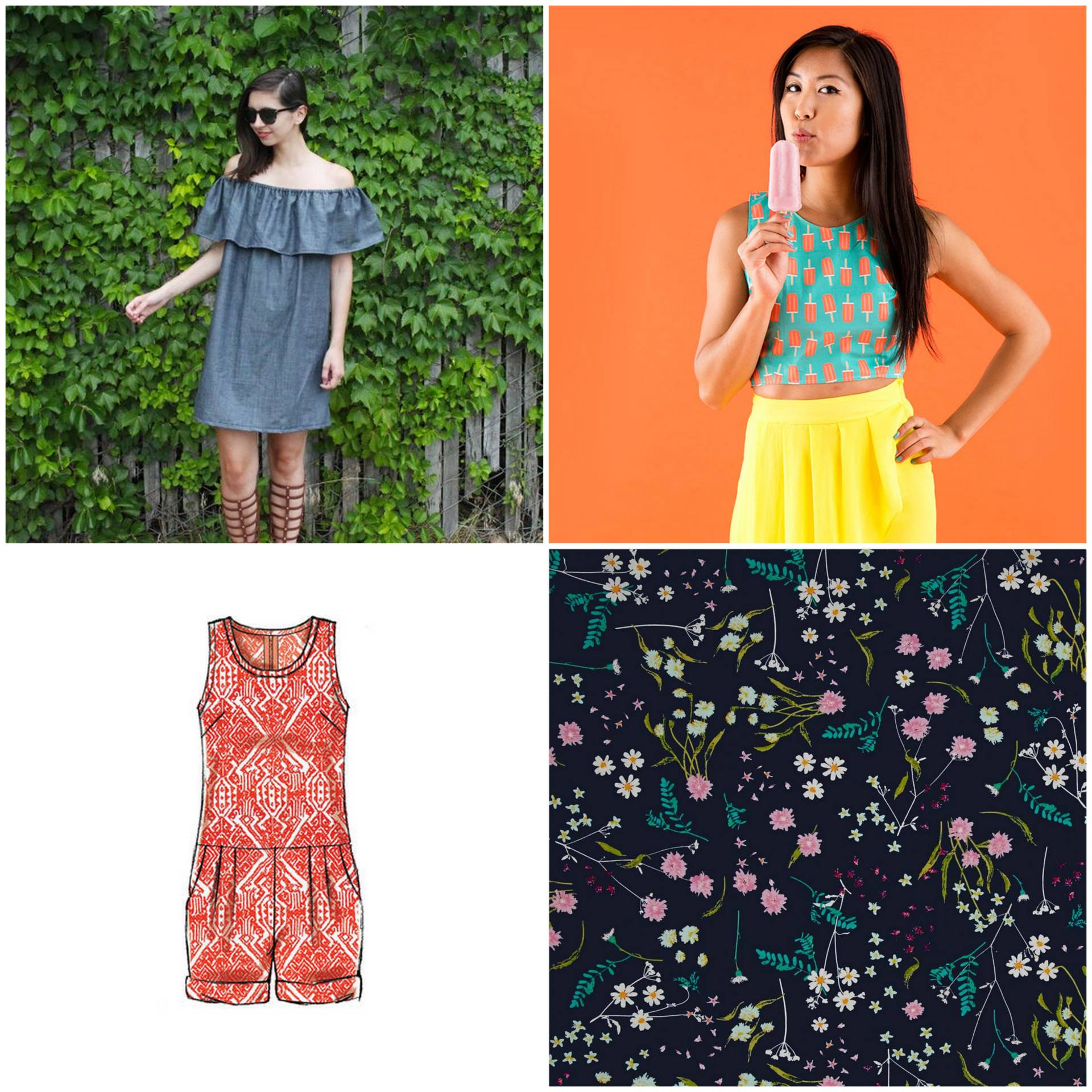 Summer Fashion DIY roundup