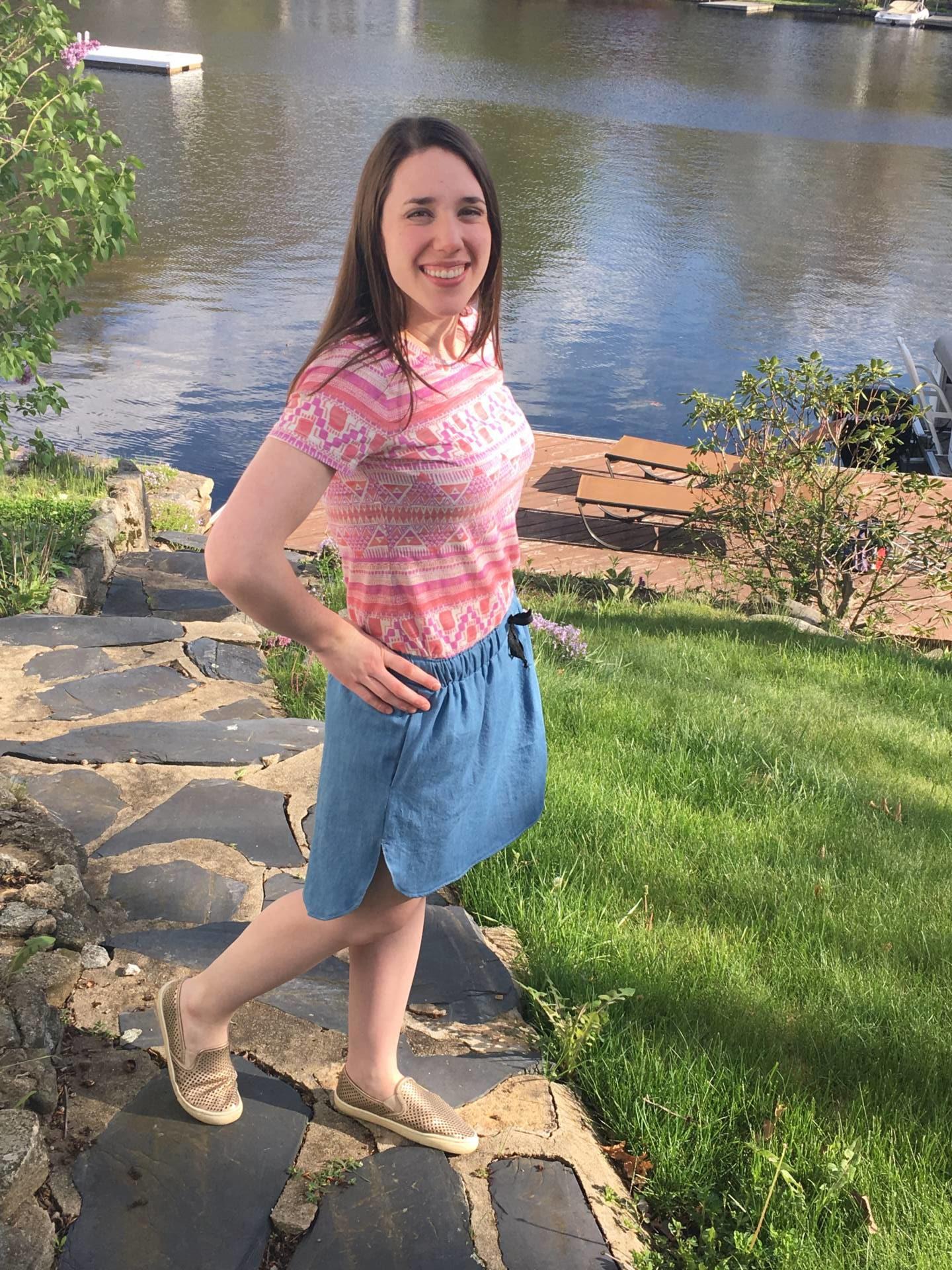 Me-Made May 2016 Baseball Skirt