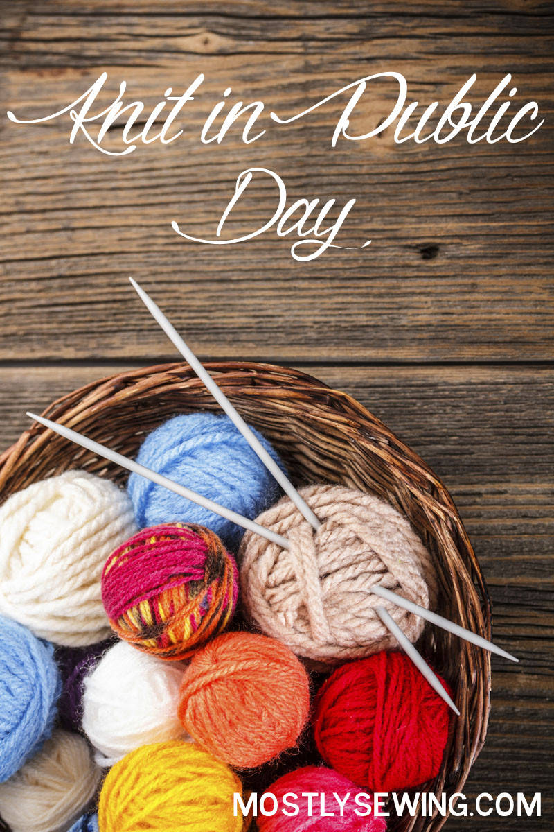 knit in public day is June 11th! what are you working on?