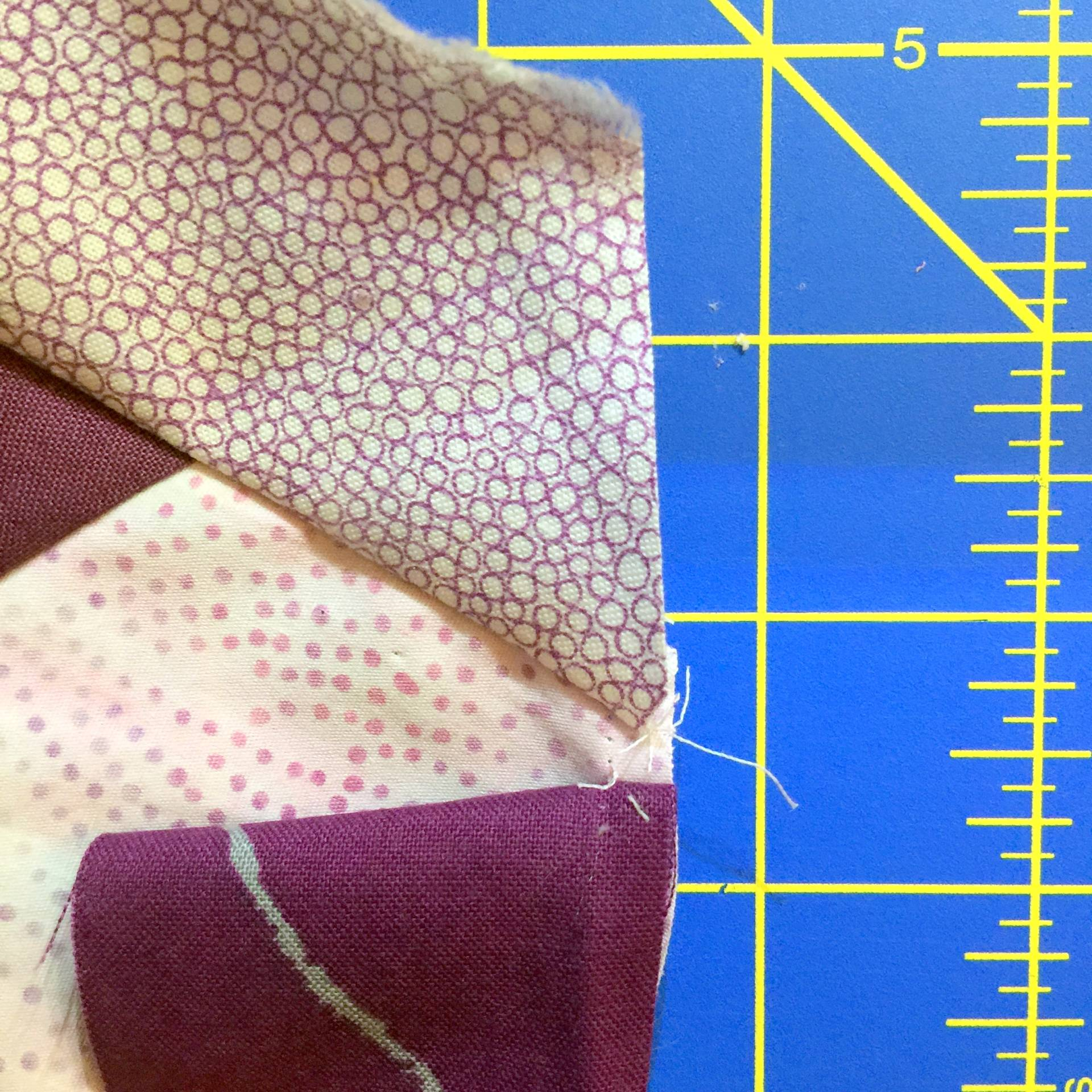 Always read the instructions before starting a tutorial so you don't need to rip out seams later!