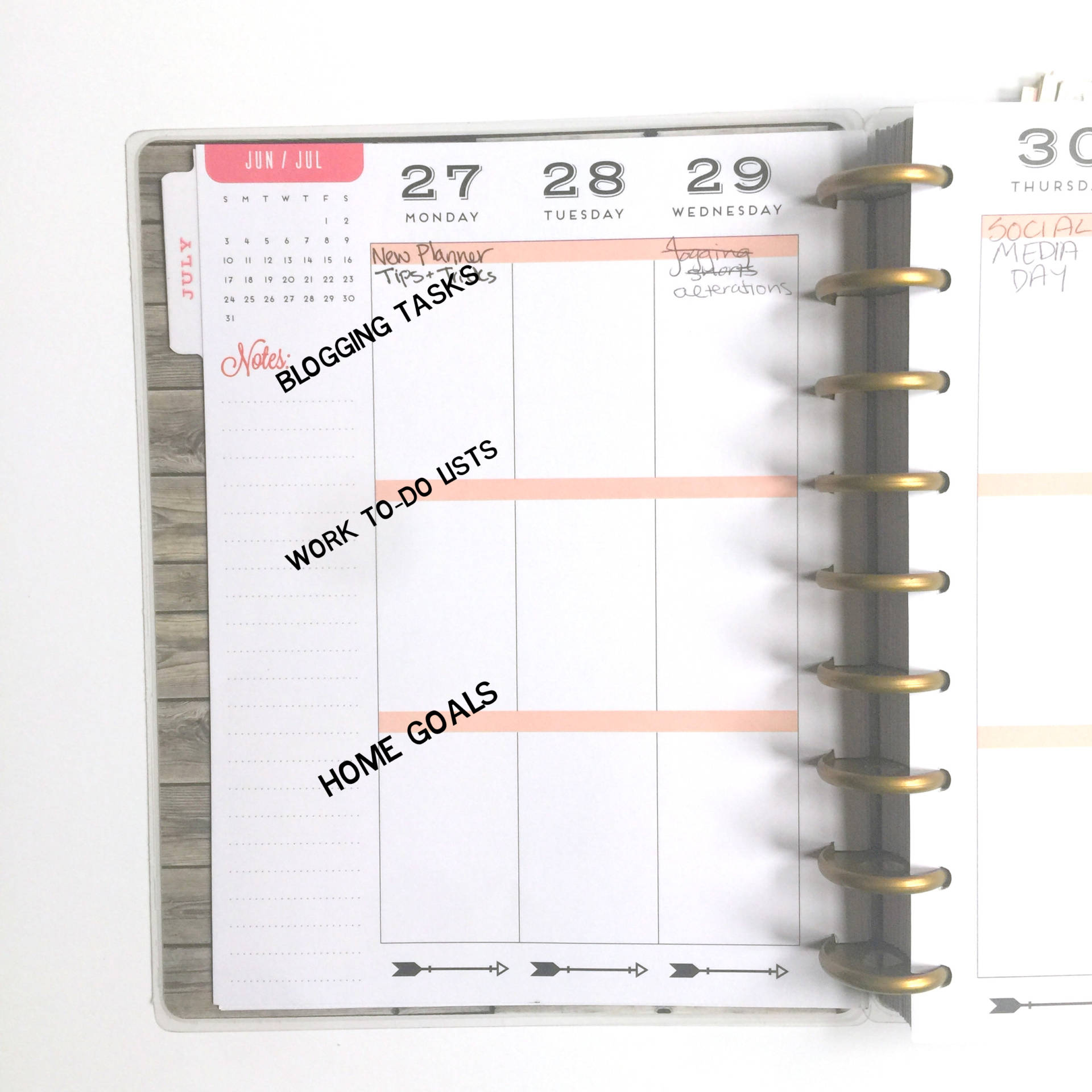 How I'll be using The Happy Planner to keep my life organized