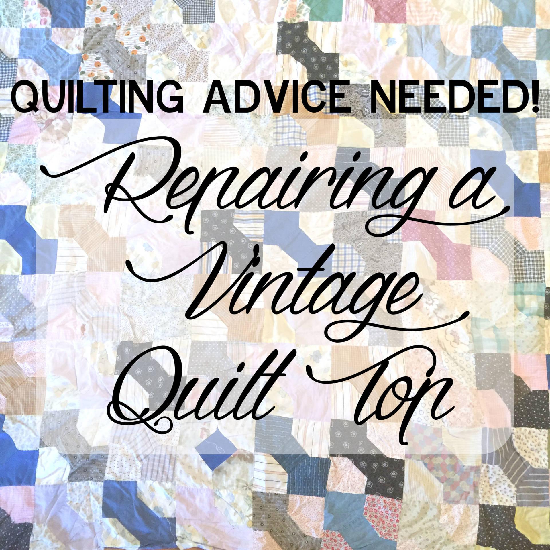 6 6 vintage quilt top