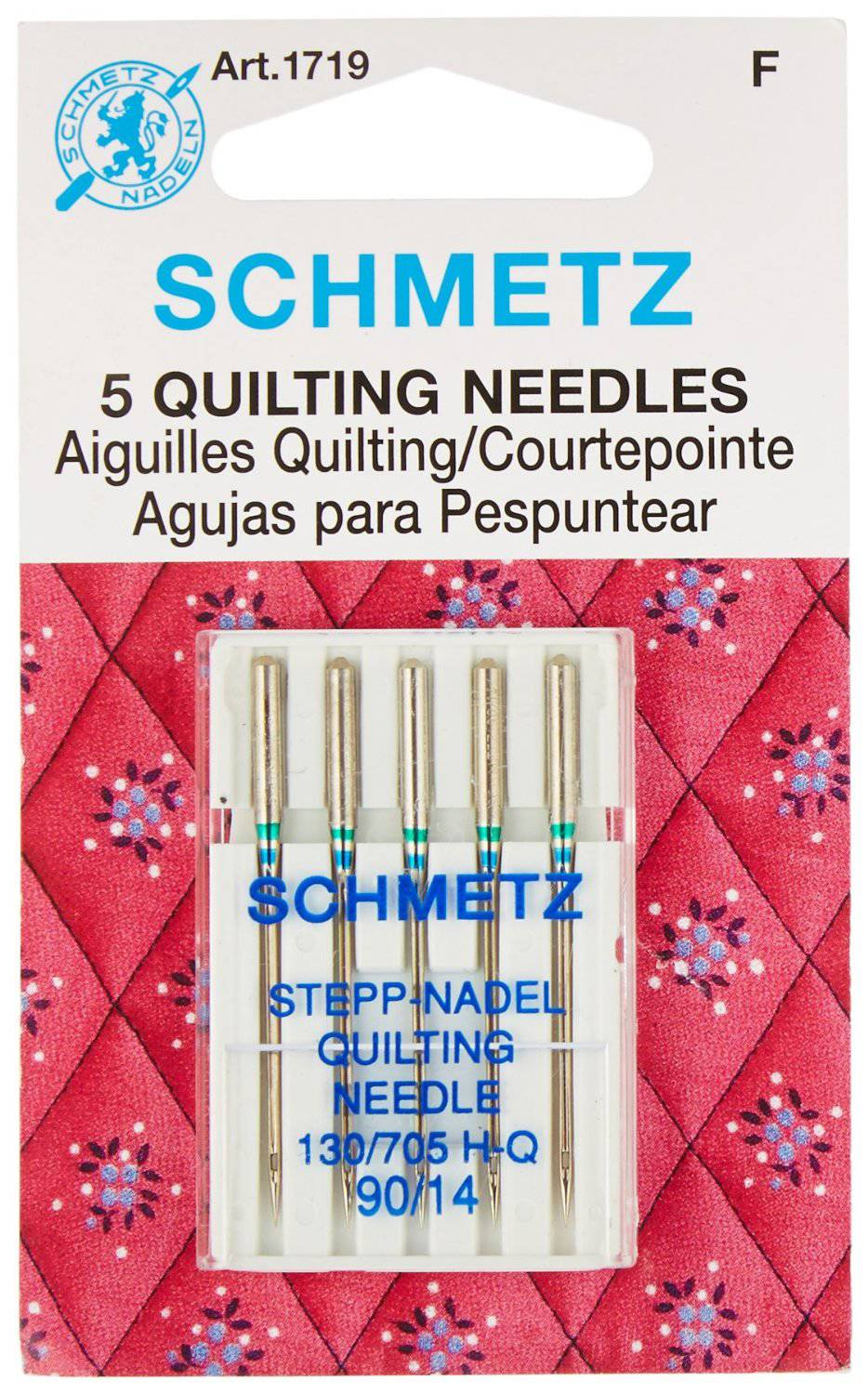 make sure you have the right needle for your quilting project!