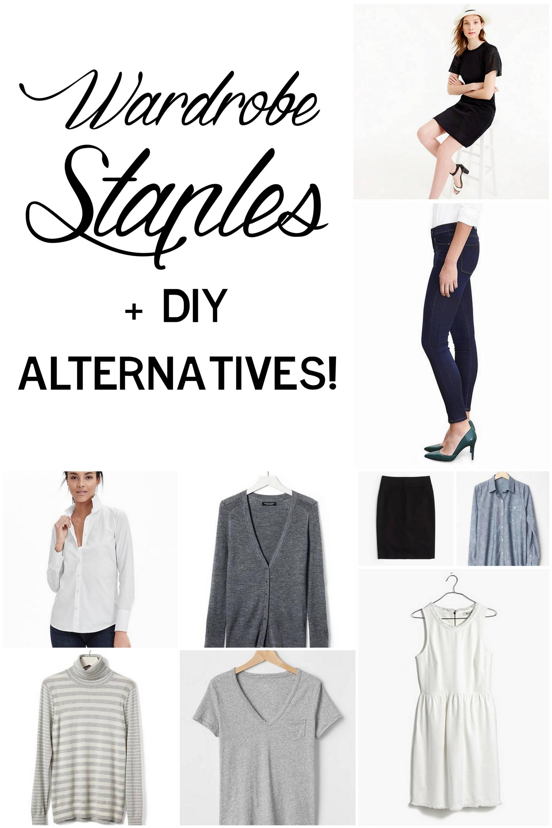 expanding your closet with handmade wardrobe staples