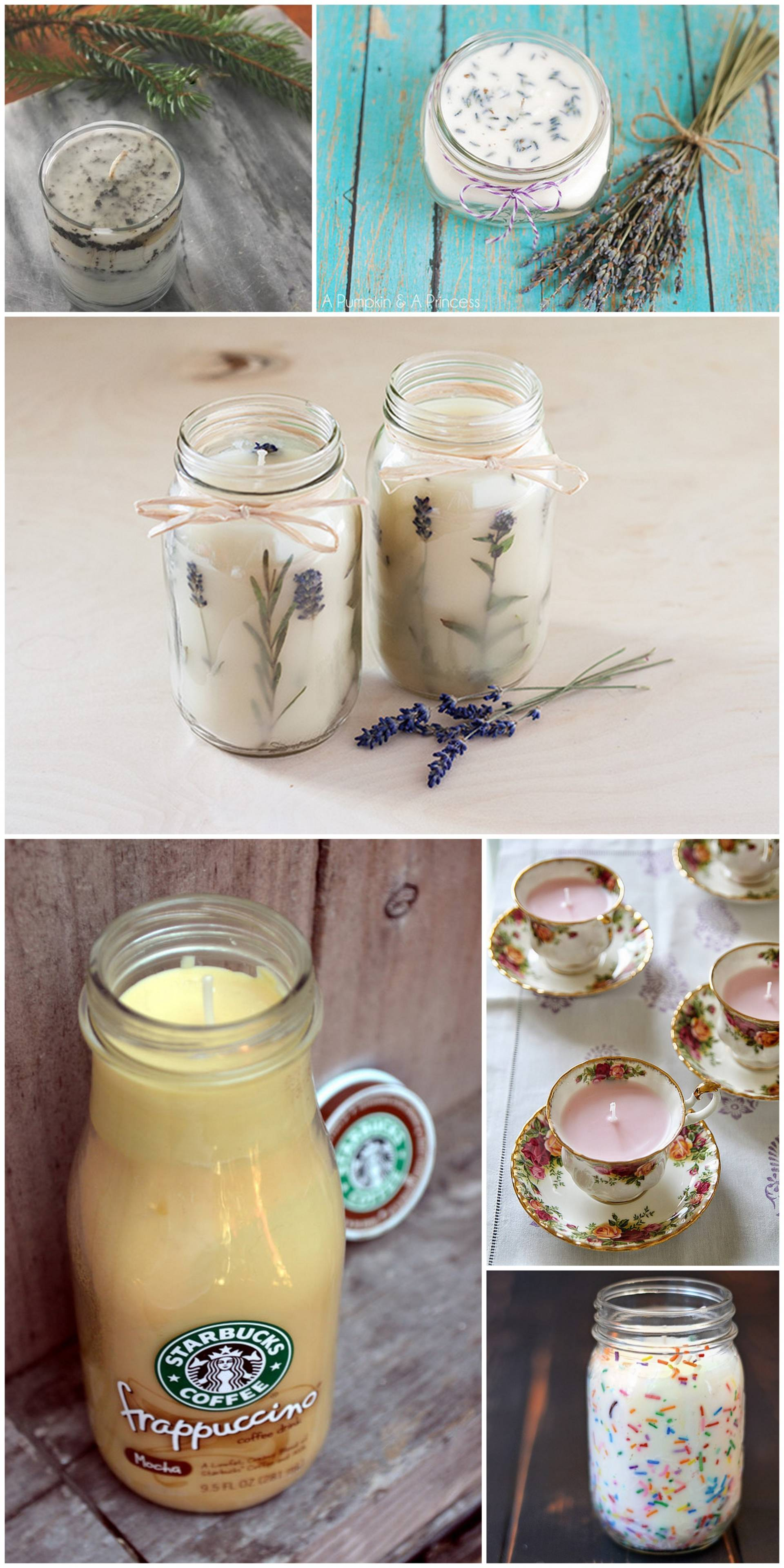 inspiration for more DIY candles