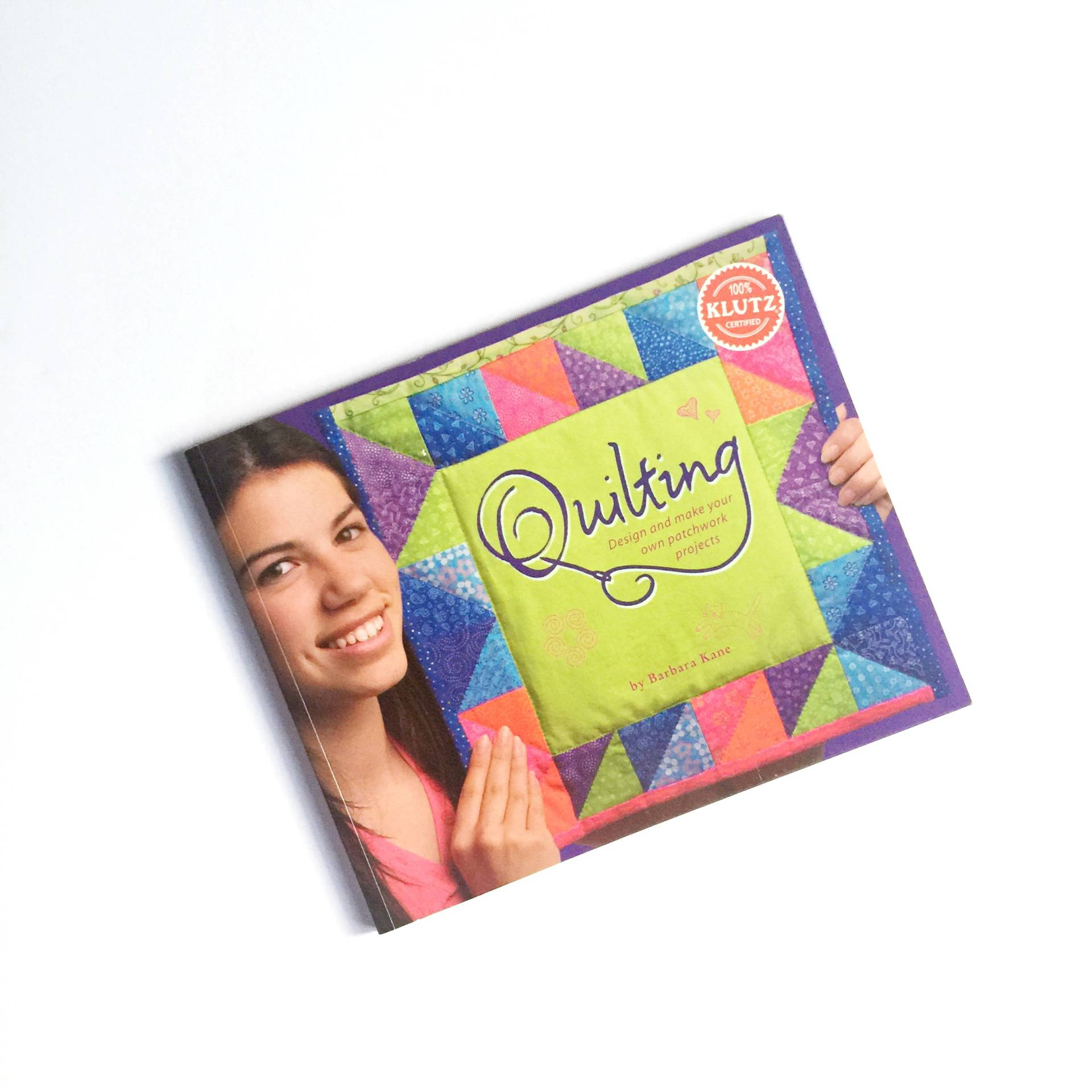Flashback Friday: Klutz Quilting book!