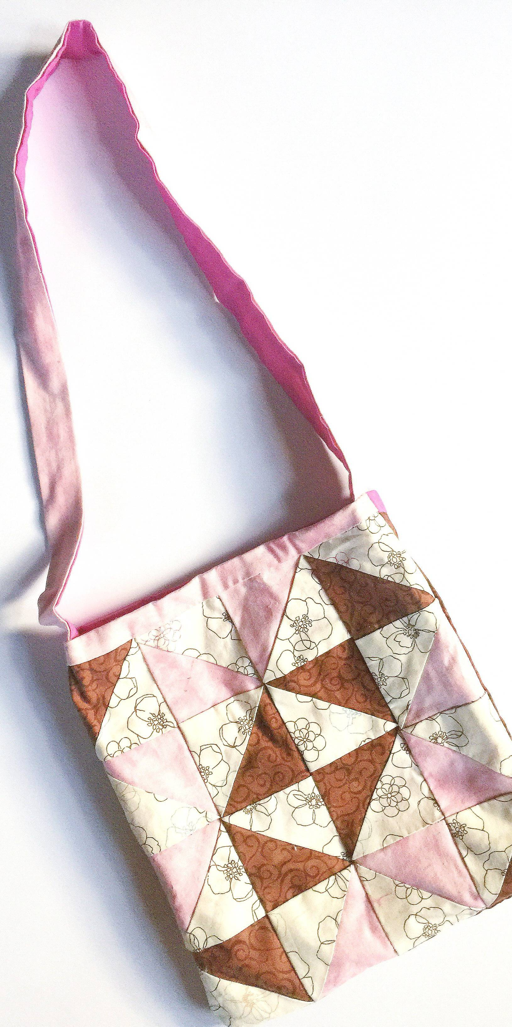 Flashback Friday: handsewn quilted purse from the Klutz Quilting book