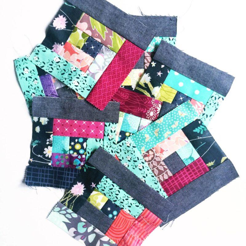 Improv-ish Mini Quilt Blocks