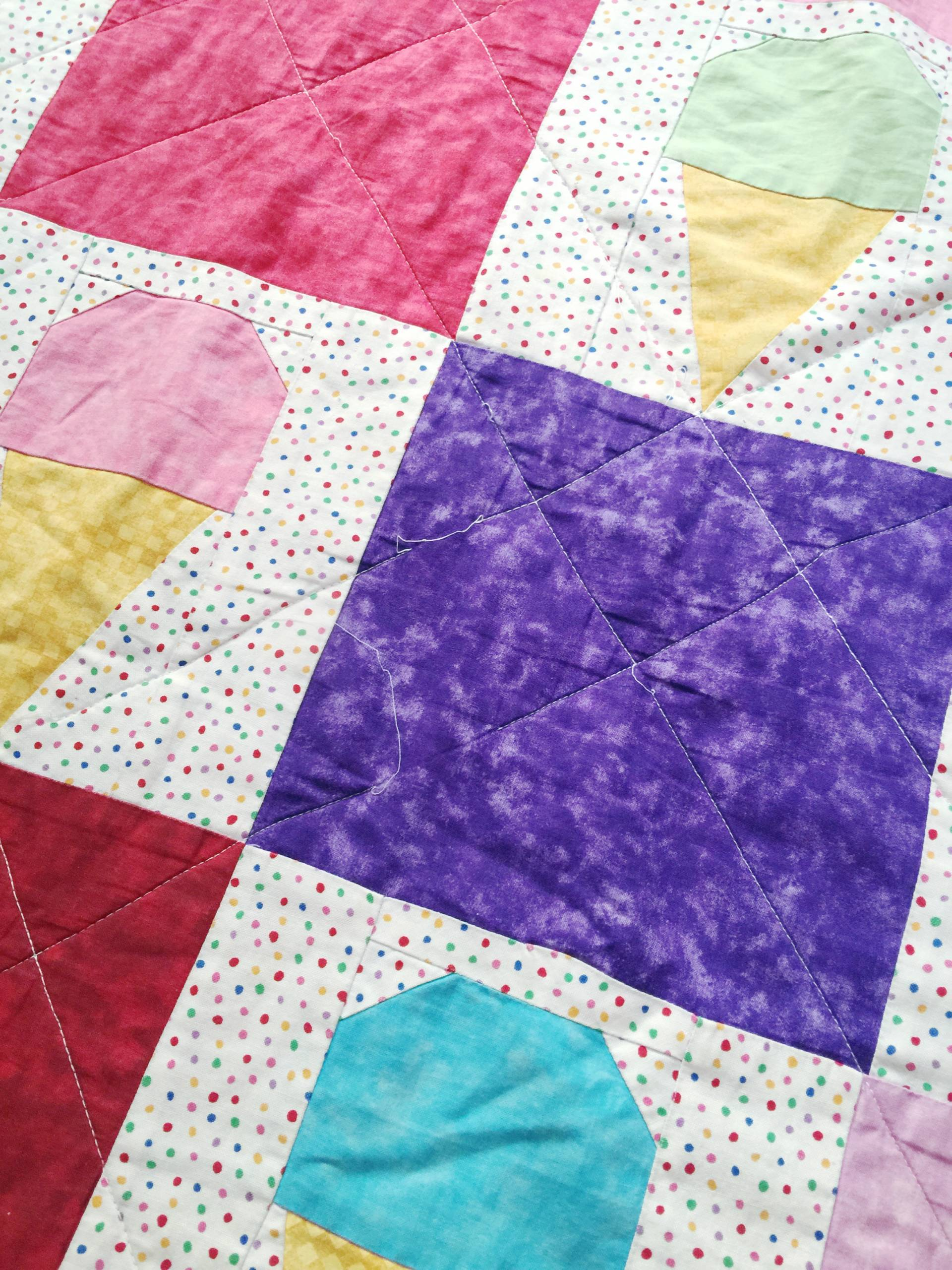 This 10-year old quilt might need some restitching