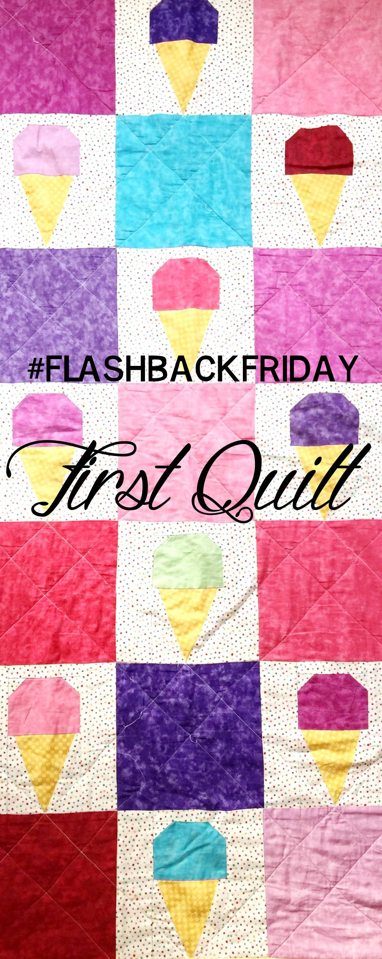 flashback friday! Technically my  second quilt, since the first was donated, but I made this one when I was 16