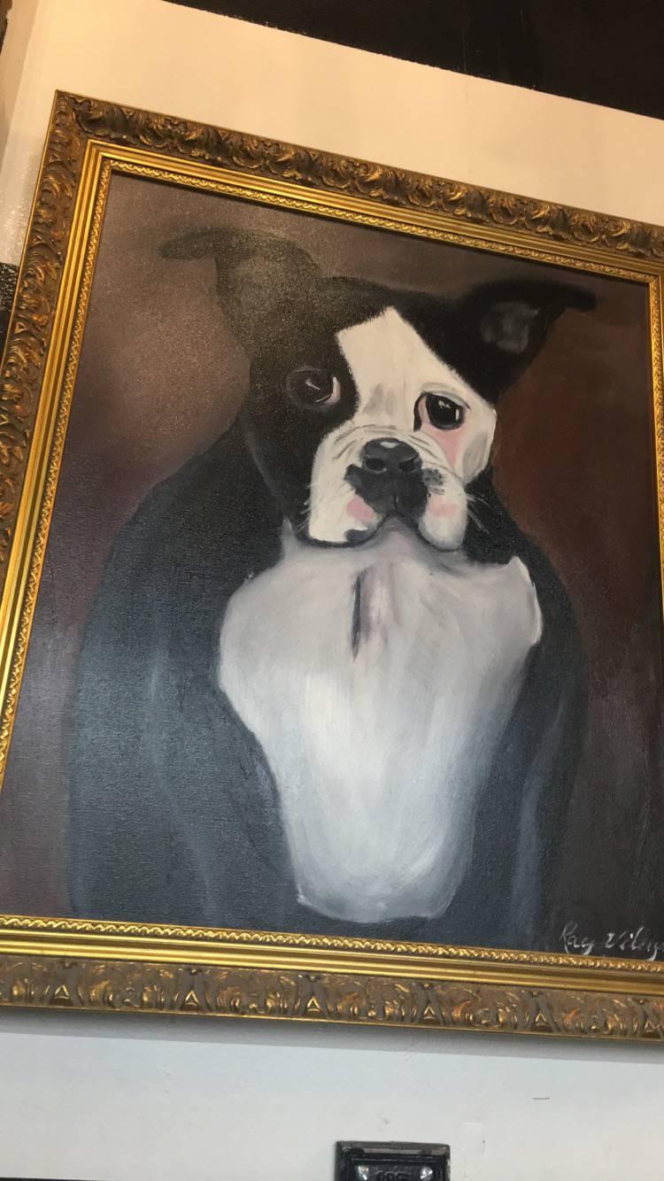 the mood puppy portrait!