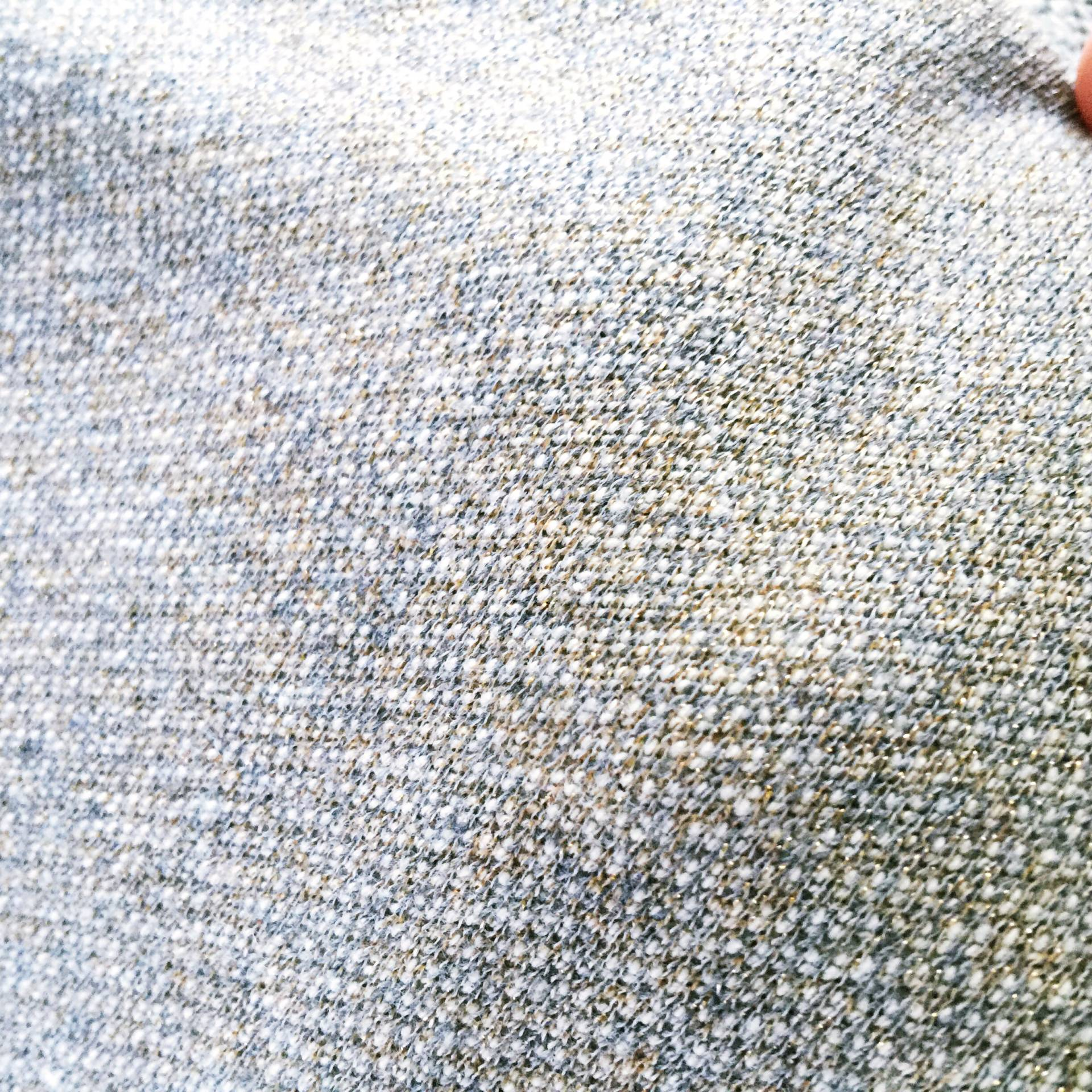 Shimmer French Terry for a cozy sweatshirt!