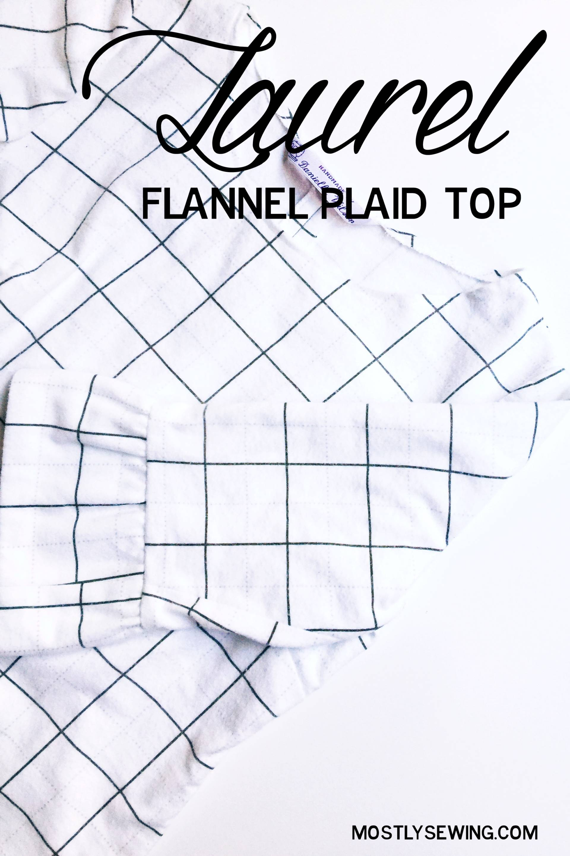 There's nothing better than a flannel plaid shirt for autumn - and this is a super cute take on the fall favorite