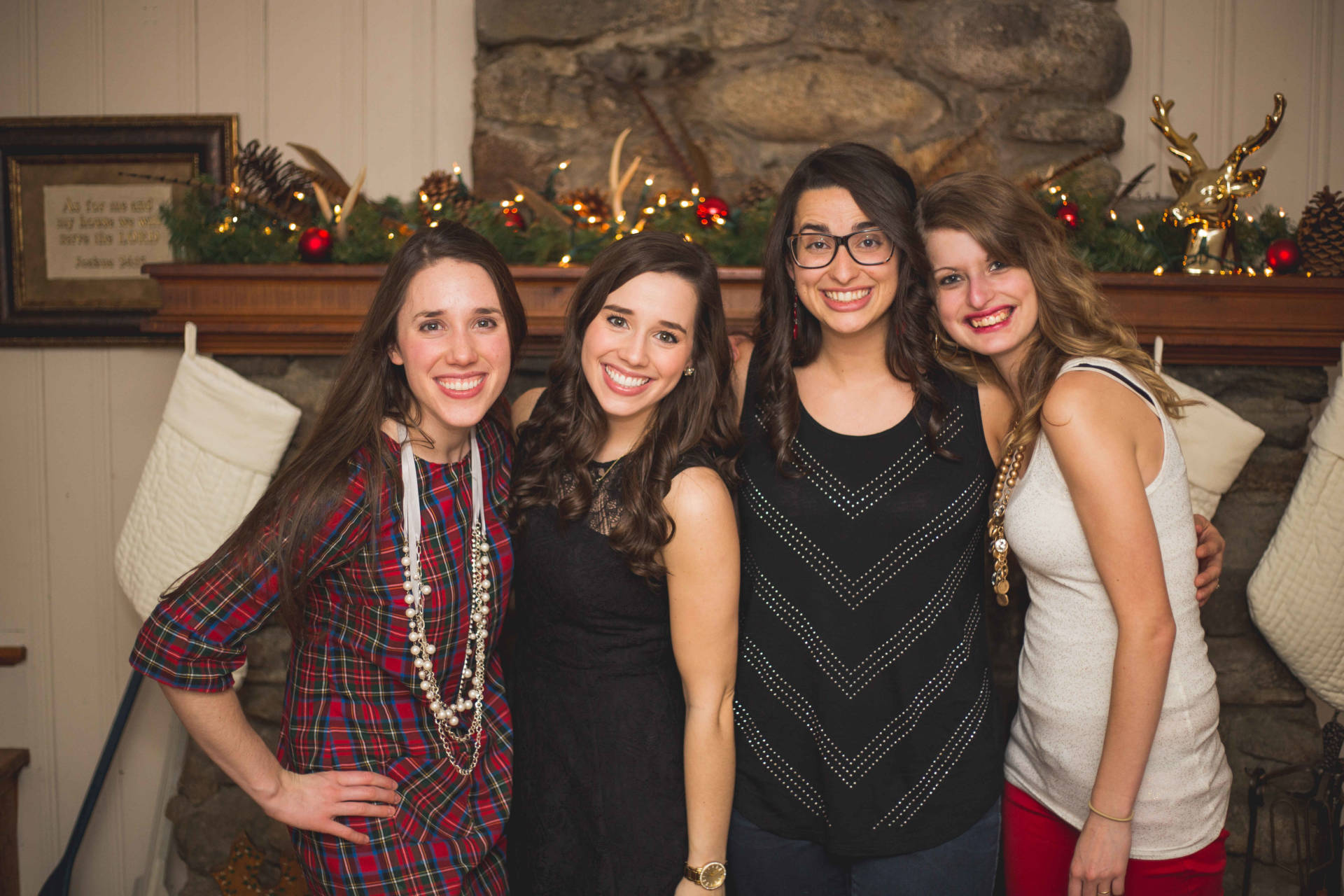 The Laurel Dress in Plaid - Cousins! Christmas Eve 2015